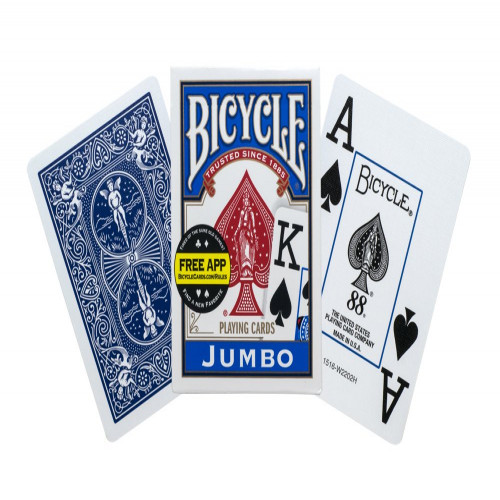 NAIPE BICYCLE POKER Nº GRANDE X 12